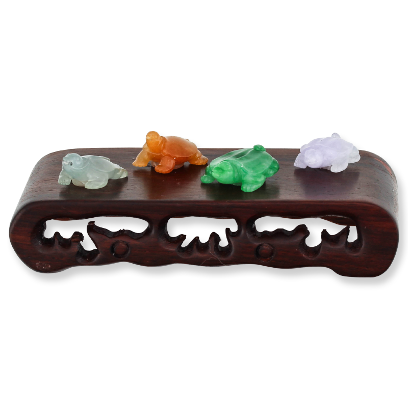 Natural Jade Turtle Statuary