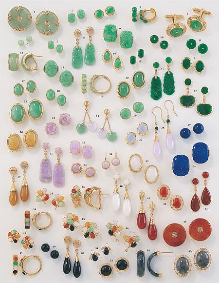 Jadeite Jade Jewelry by Mason-Kay Catalog-Vol. VI Page 15