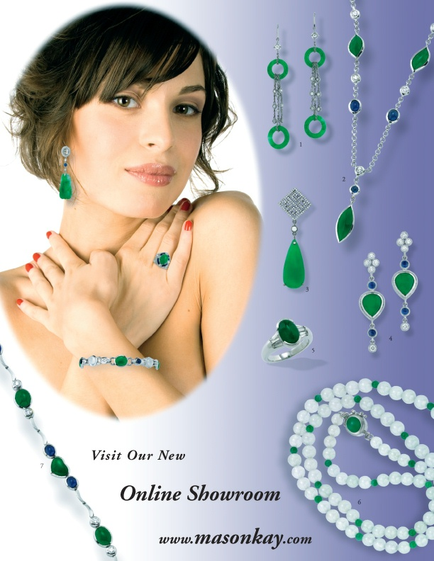 MK Jadeite Jade Jewelry Product Guide - Vol. VII Page 1